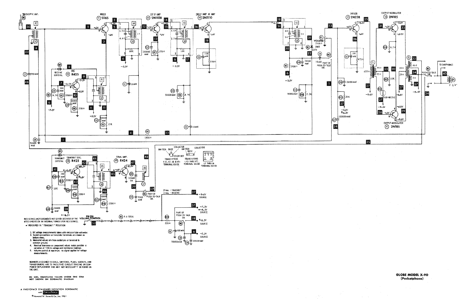 globe cb100a sch service manual download  schematics  eeprom  repair info for electronics experts