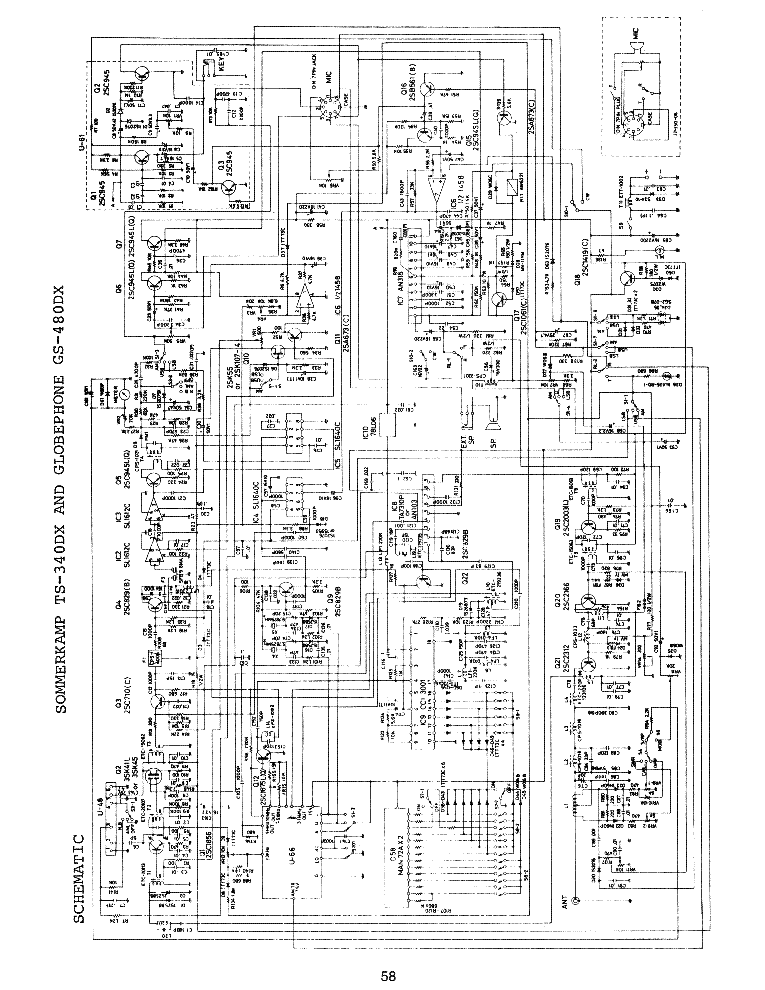cb radio schematics