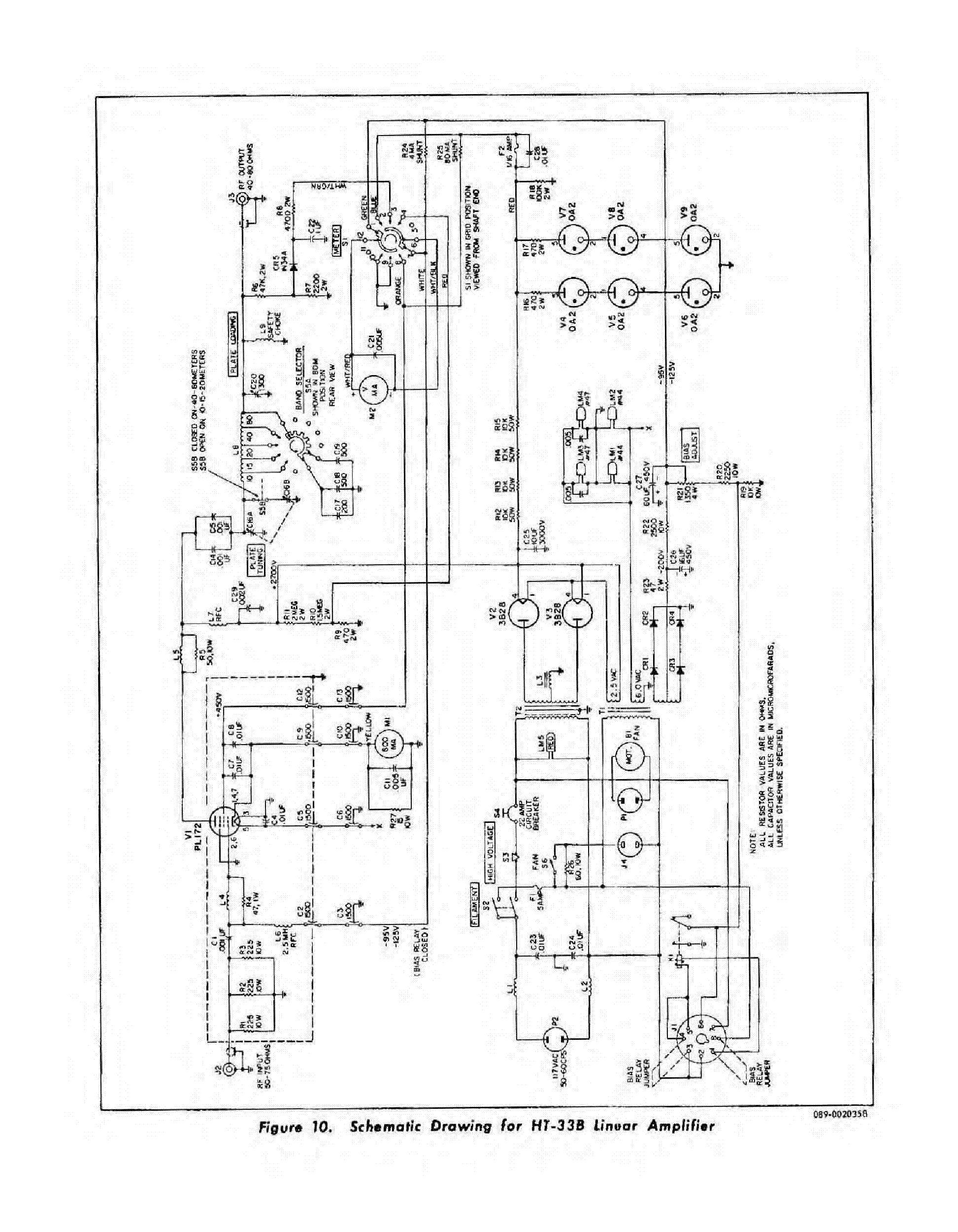 3 500z  lifier Schematic furthermore Ham Radio Linear  lifier Schematics furthermore Ham Radio Linear Lifier Schematics besides Rf Attenuator Circuit Diagram together with Linear  lifier Schematics. on tube linear lifier cb radio