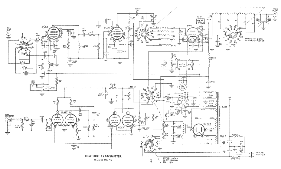 dx 40 schematic 1992 honda accord dx wiring schematic heathkit dx-40 transmitter sm service manual download ...