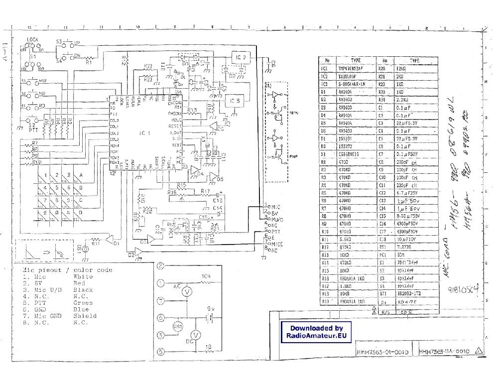 Icom 228h Service manual