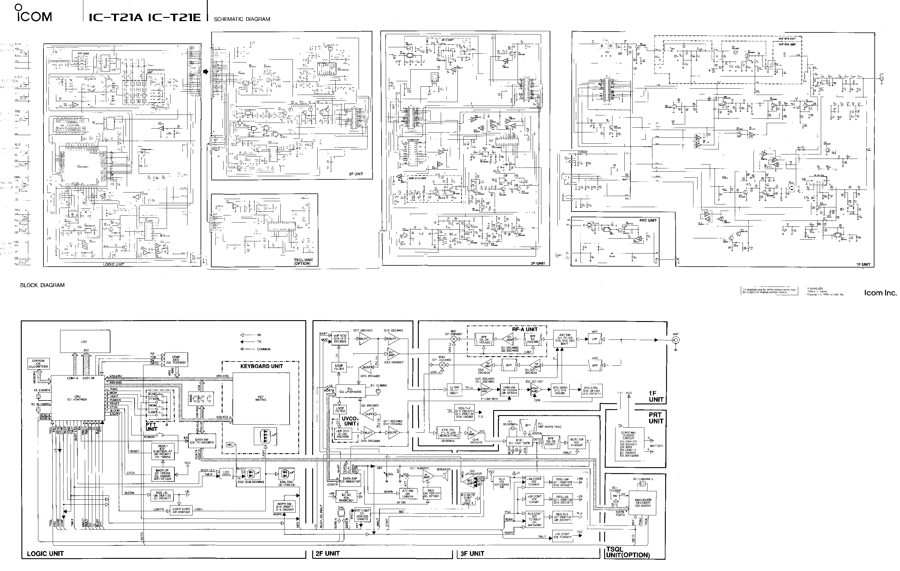icom ic 21 schematic service manual download schematics eeprom rh elektrotanya com BMW ICOM Icom Logo