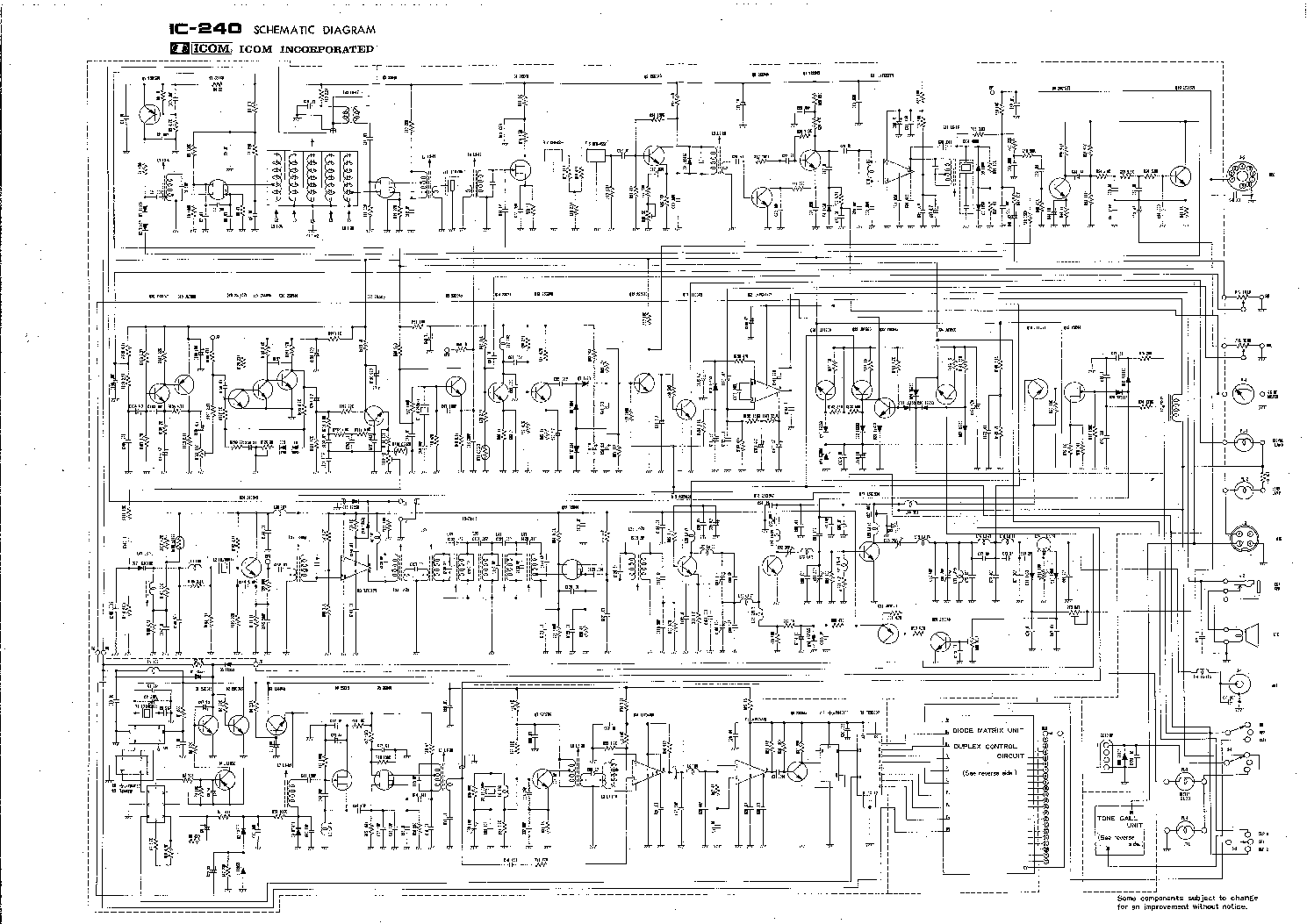 icom ic 240 schematic service manual download schematics eeprom rh elektrotanya com ic 4017 schematic diagram ic 4558 schematic diagram