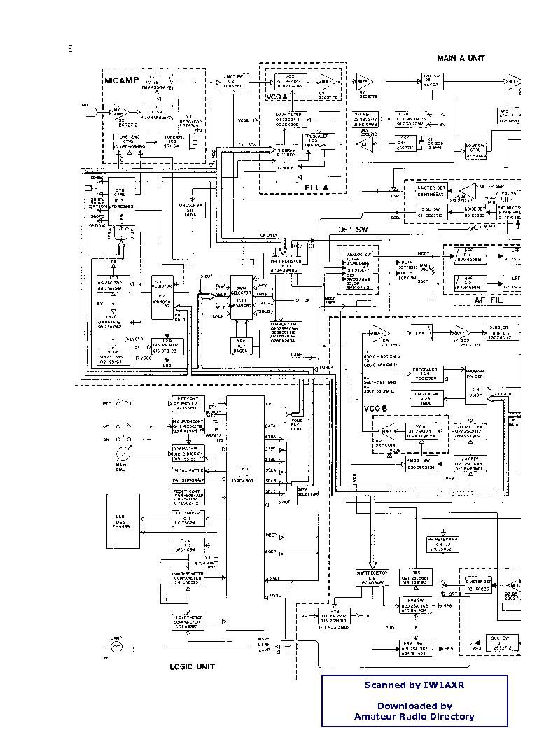 Icom ic f320 service manual