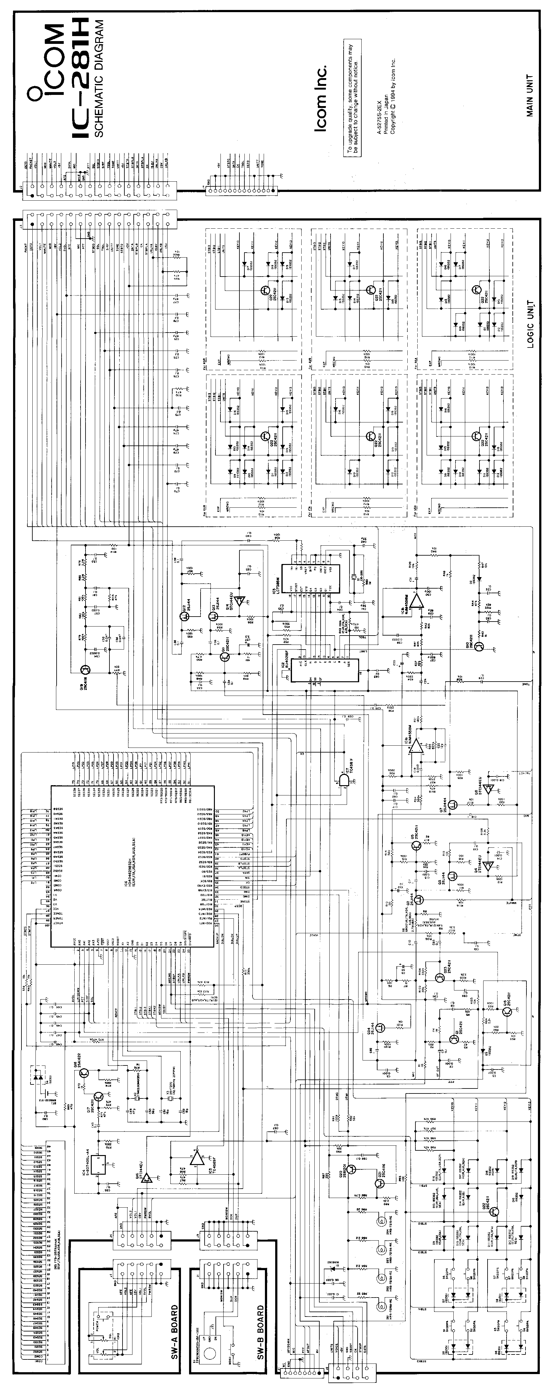 Icom Ic 281h manual