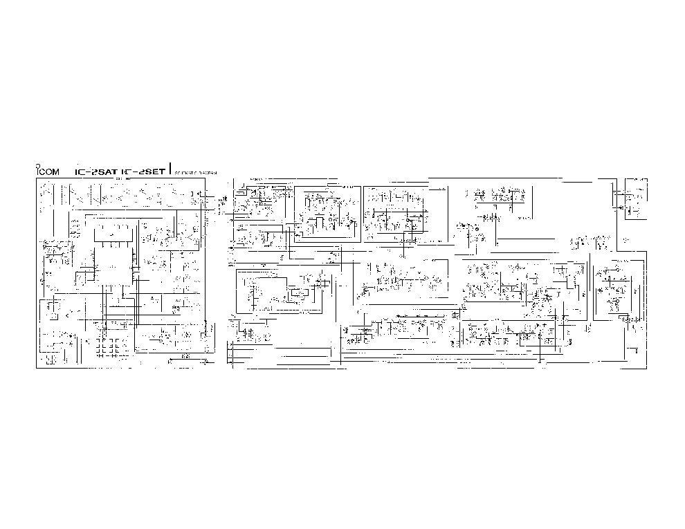 Icom ic 735 Service manual