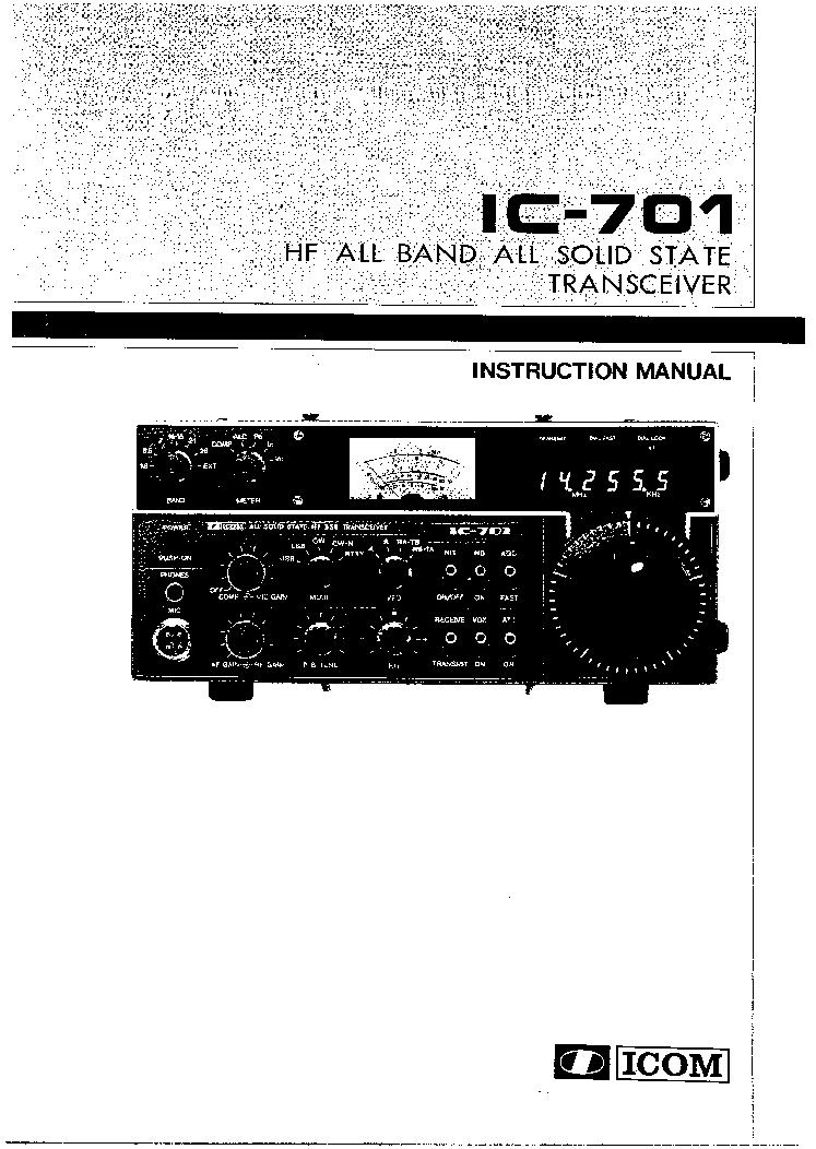 icom ic-701 sm service manual free download, schematics, eeprom, Schematic
