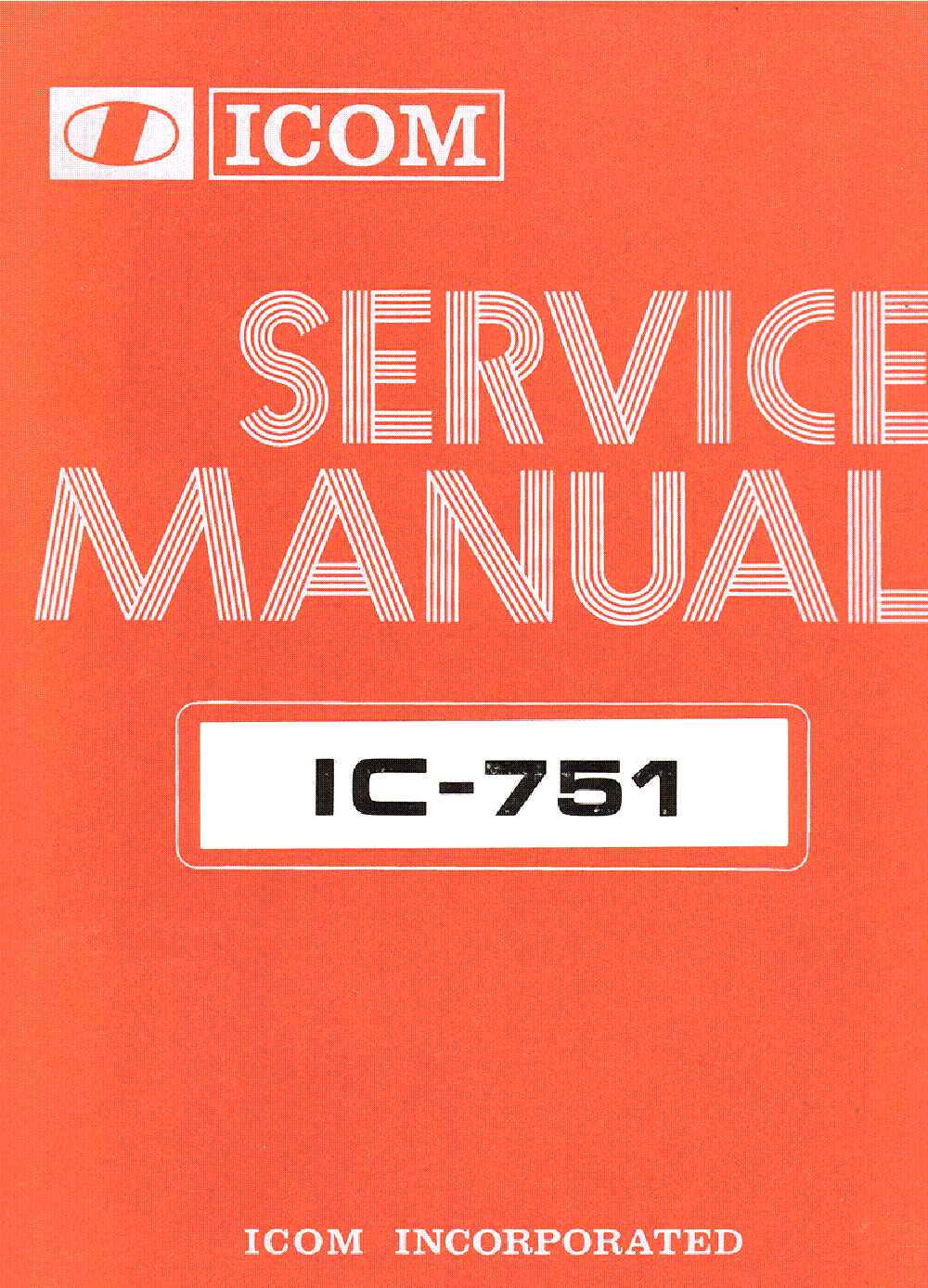 Icom ic-751 specifications | rigreference. Com.