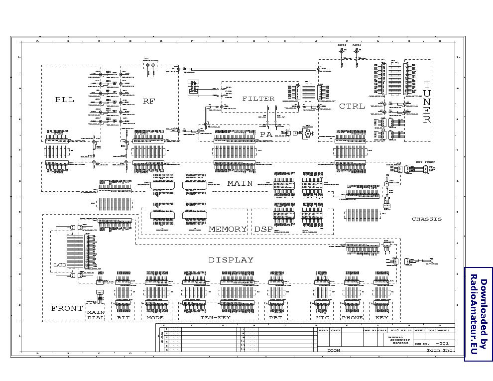 Icom ic 471h service Manual