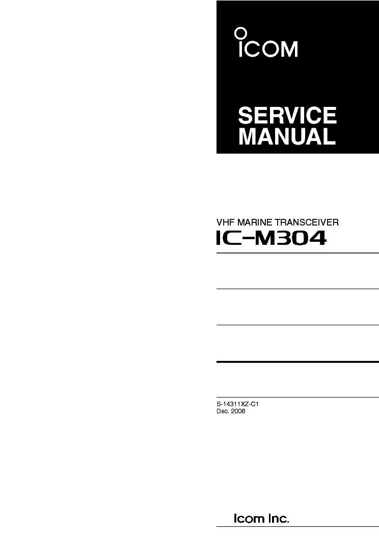 icom ic m304 sm service manual download schematics eeprom repair rh elektrotanya com icom ic-m 304 user manual Icom IC 7610 Specs