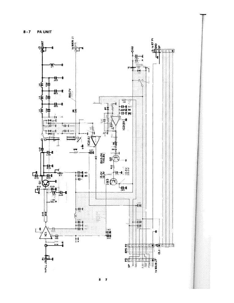Icom V200t Service Manual