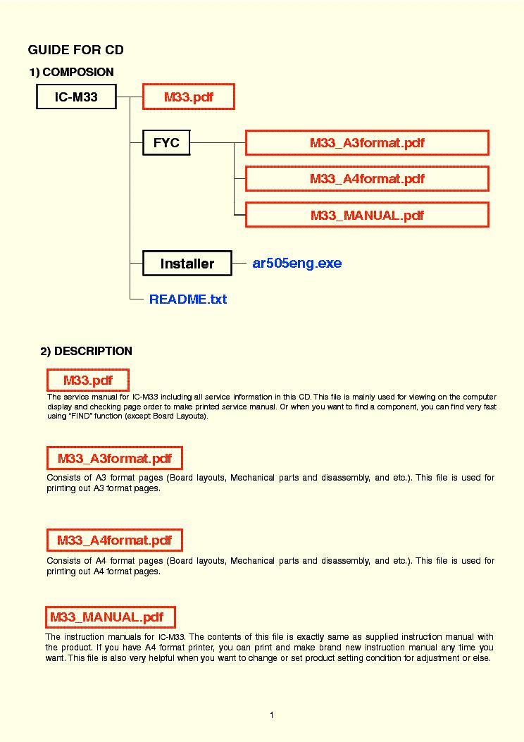Icom Id 31e Manual
