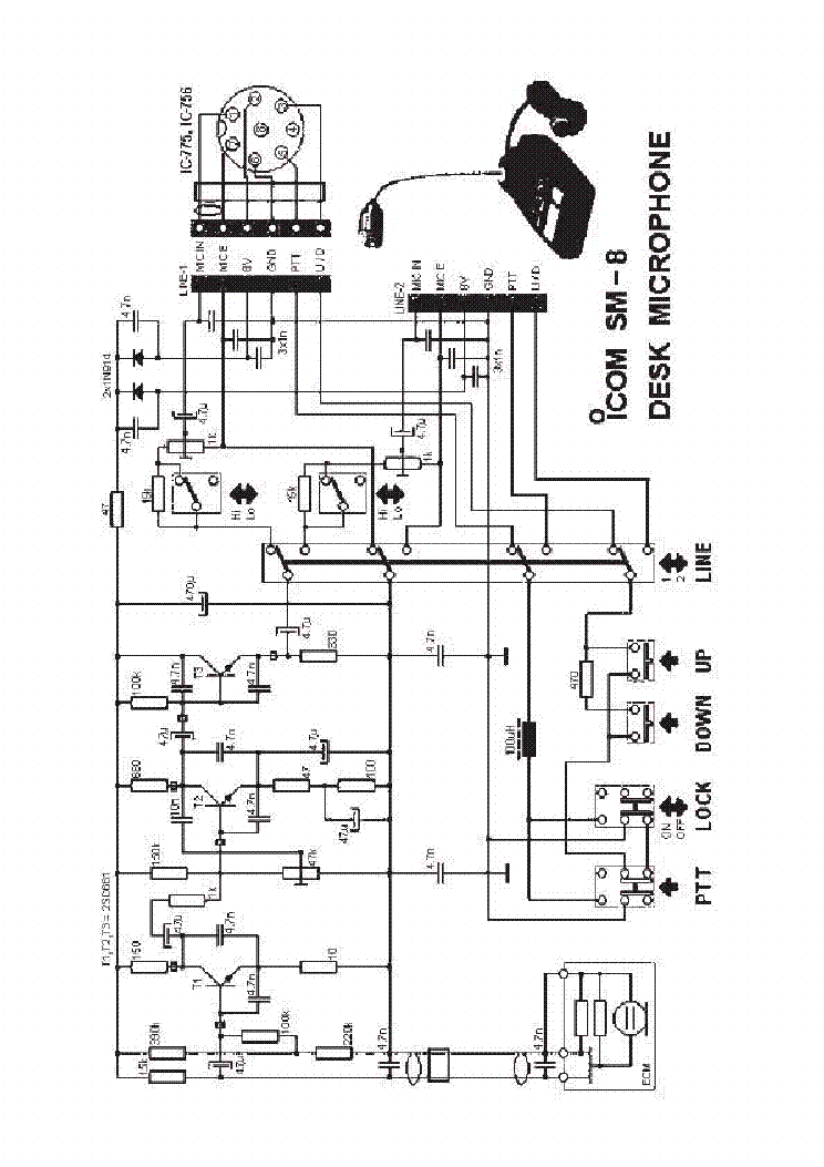 icom sm8 sch service manual download  schematics  eeprom