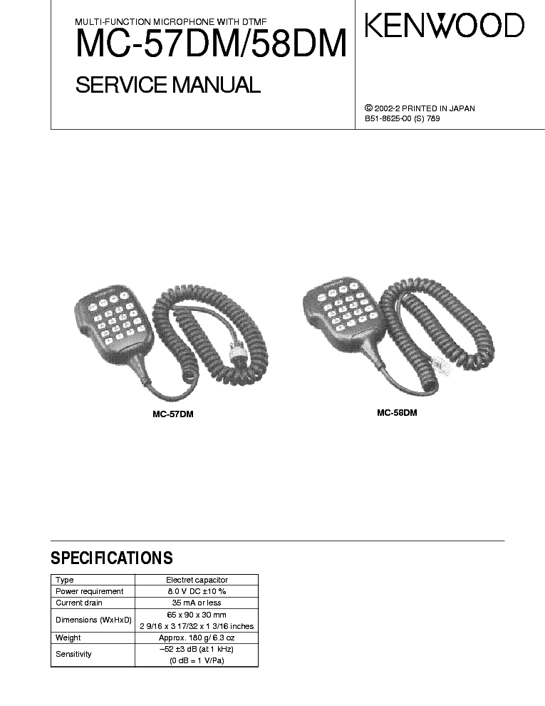 kenwood_mc 57dm_mc 58dm.pdf_1 kenwood tm v71 service manual download, schematics, eeprom, repair kenwood mc 50 wiring diagram at panicattacktreatment.co
