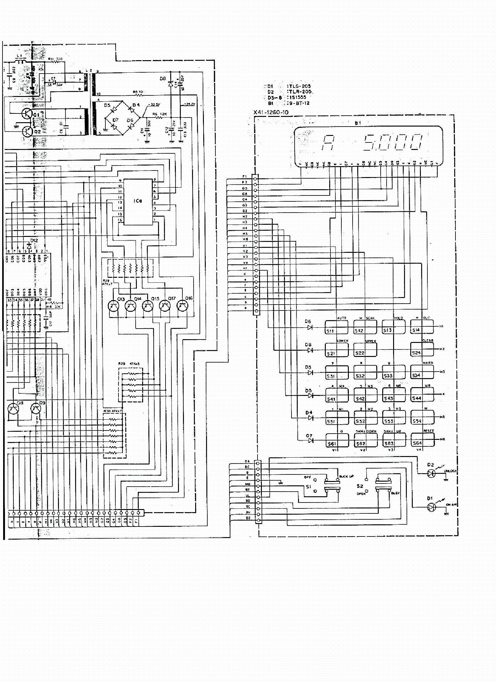 KENWOOD RM-76 SCH Service Manual download, schematics, eeprom