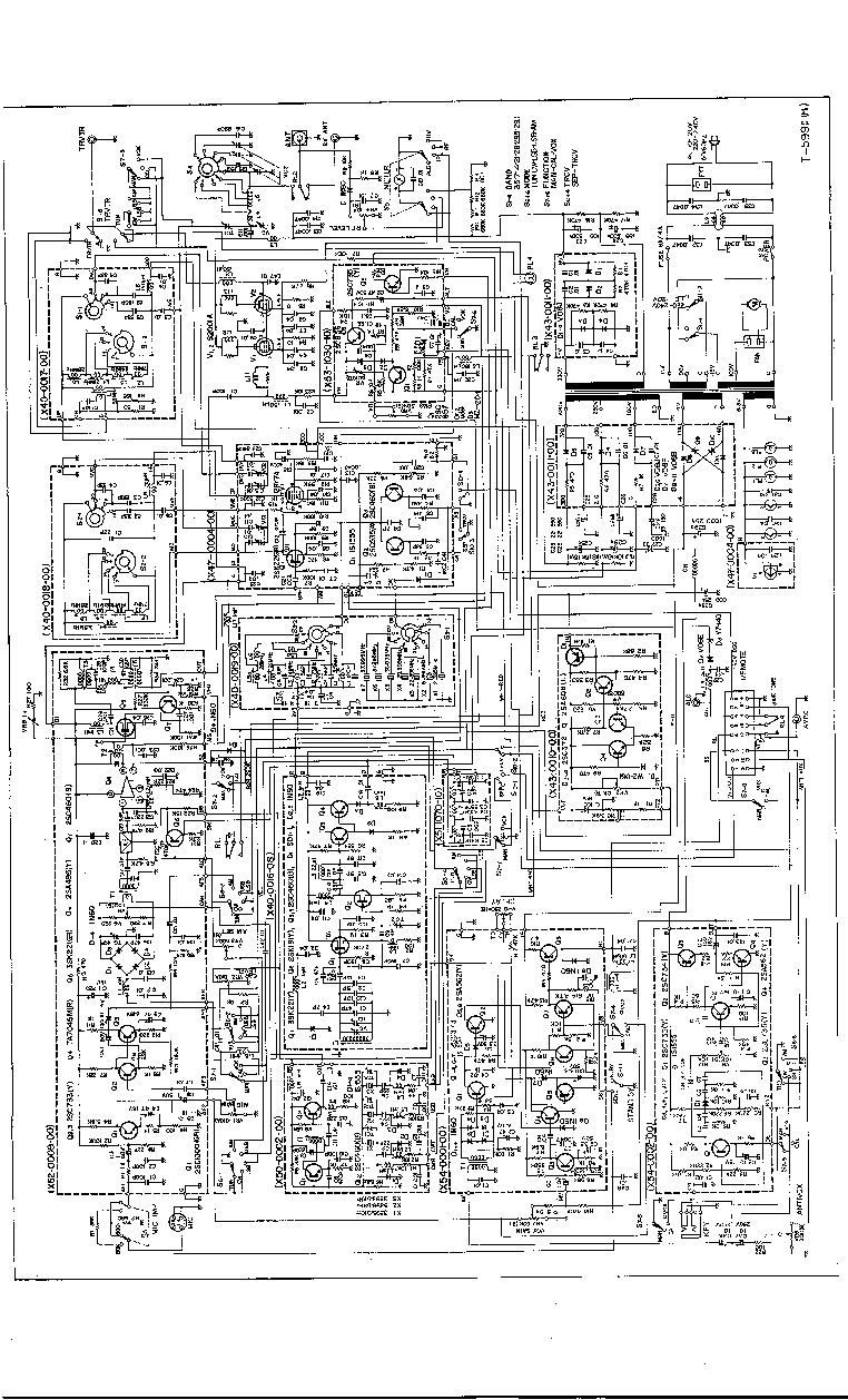 KENWOOD T-599D SCH service manual (1st page)