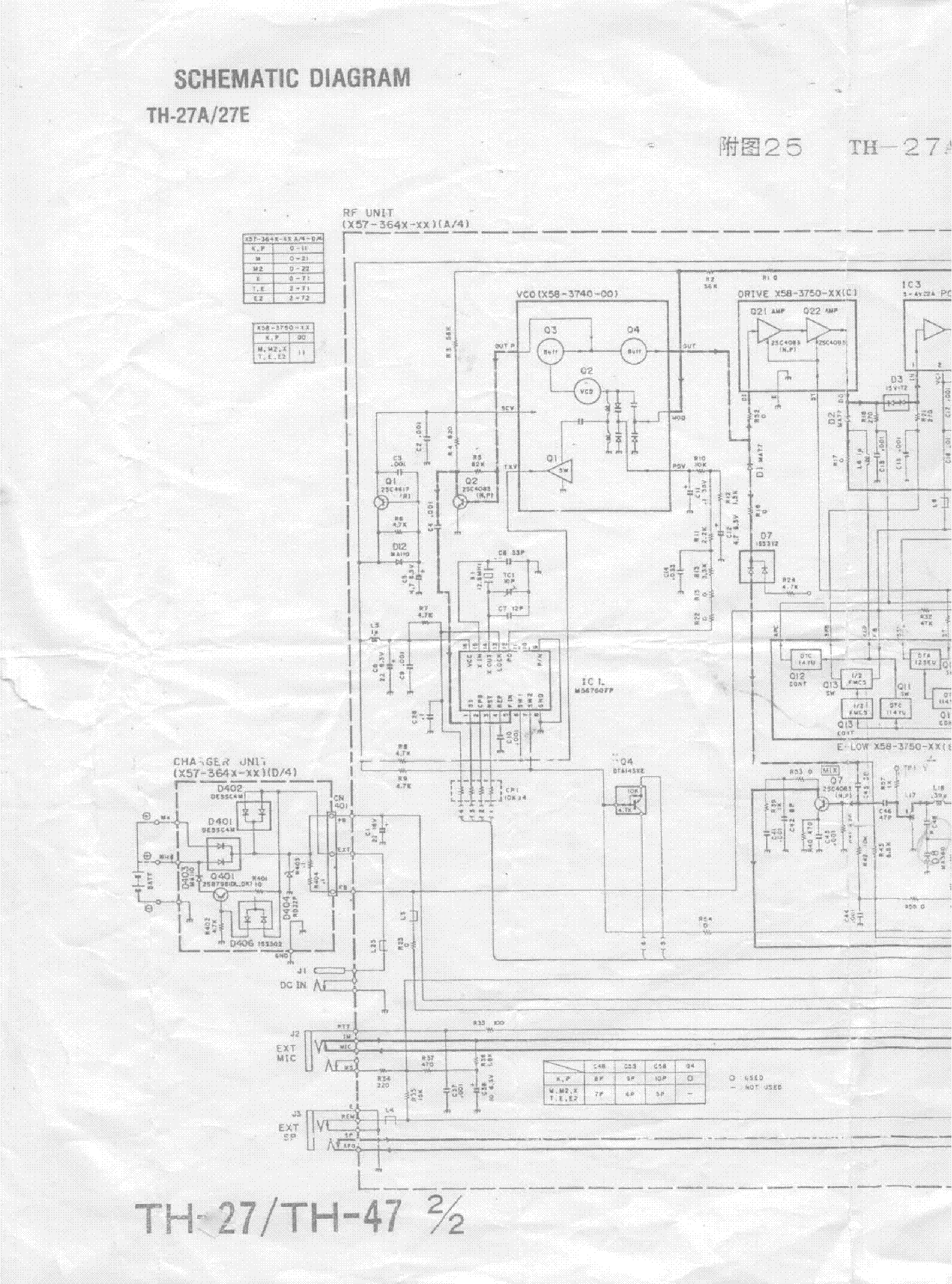 KENWOOD TH-27A TH27E service manual (1st page)