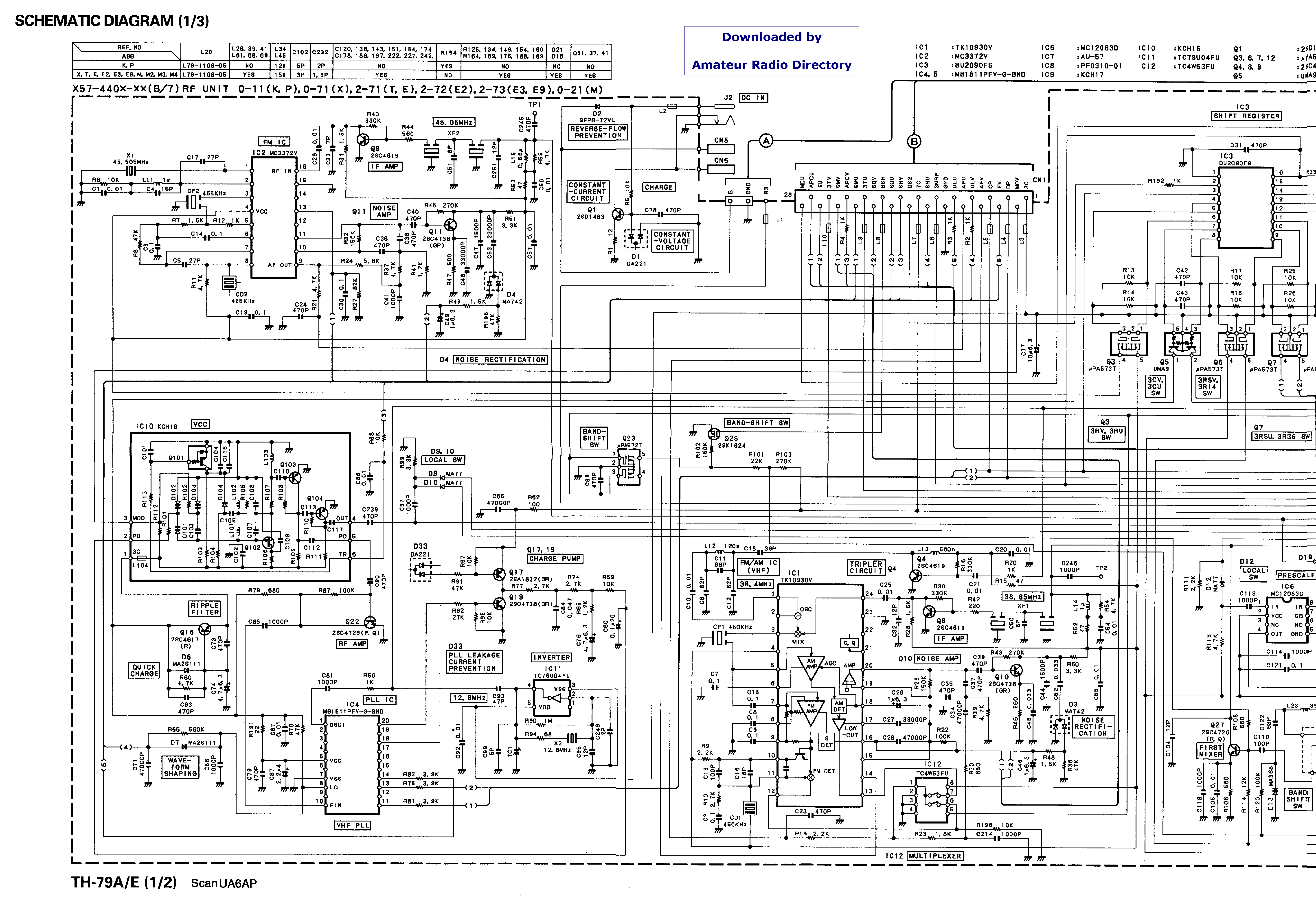 KENWOOD TH79 service manual (1st page)