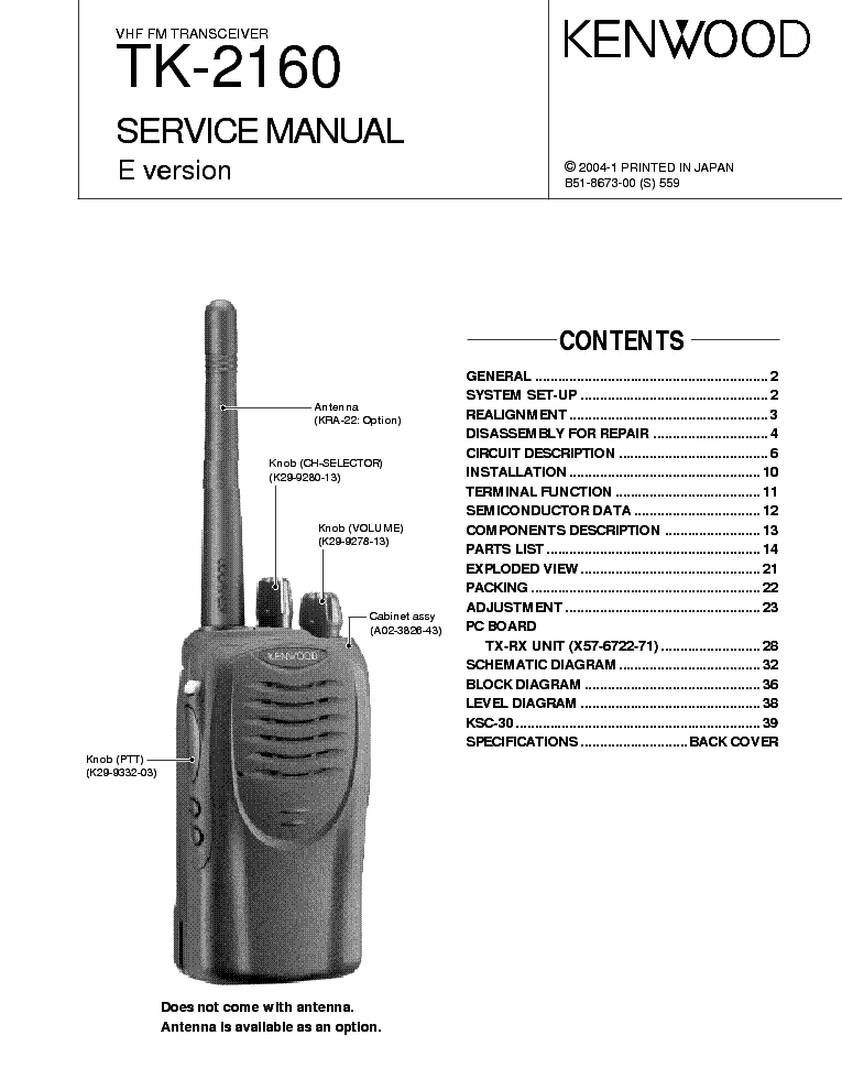kenwood tk 2160 sm service manual download schematics eeprom rh elektrotanya com Kenwood Tk 3160 Parts Kenwood Tk 3160 Parts