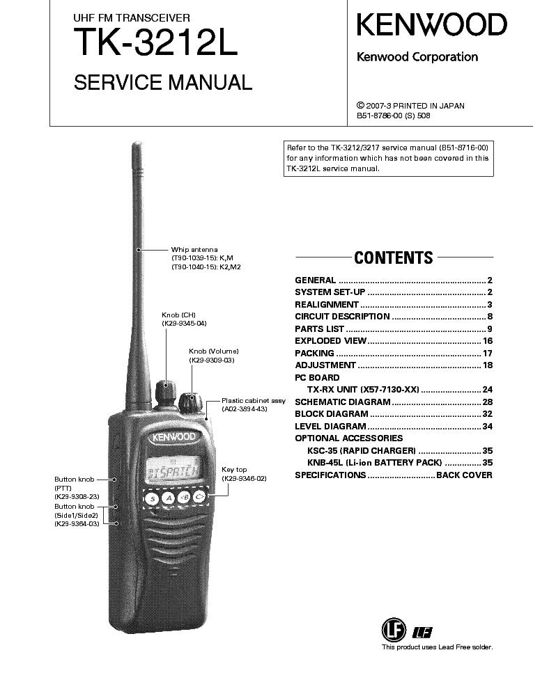 Kenwood Tk 430 Manual