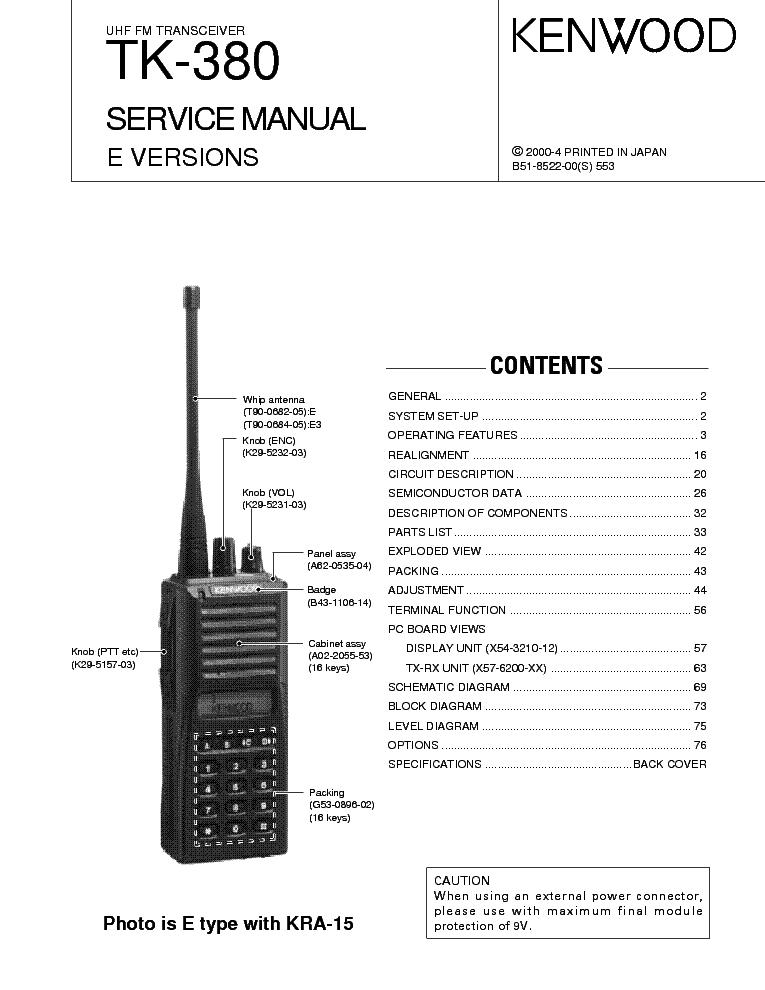Инструкция К Радиостанции Kenwood Tk-308