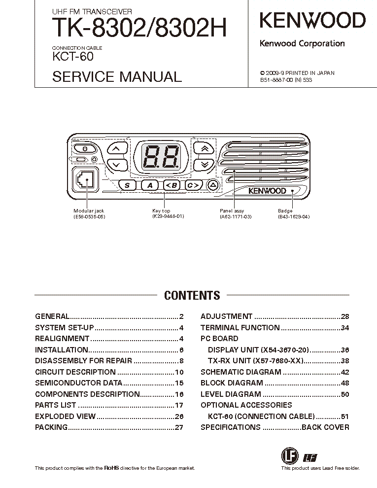 kenwood ts 430s transceiver sch service manual download schematics rh elektrotanya com Schematic Diagram Residential Electrical Wiring Diagrams