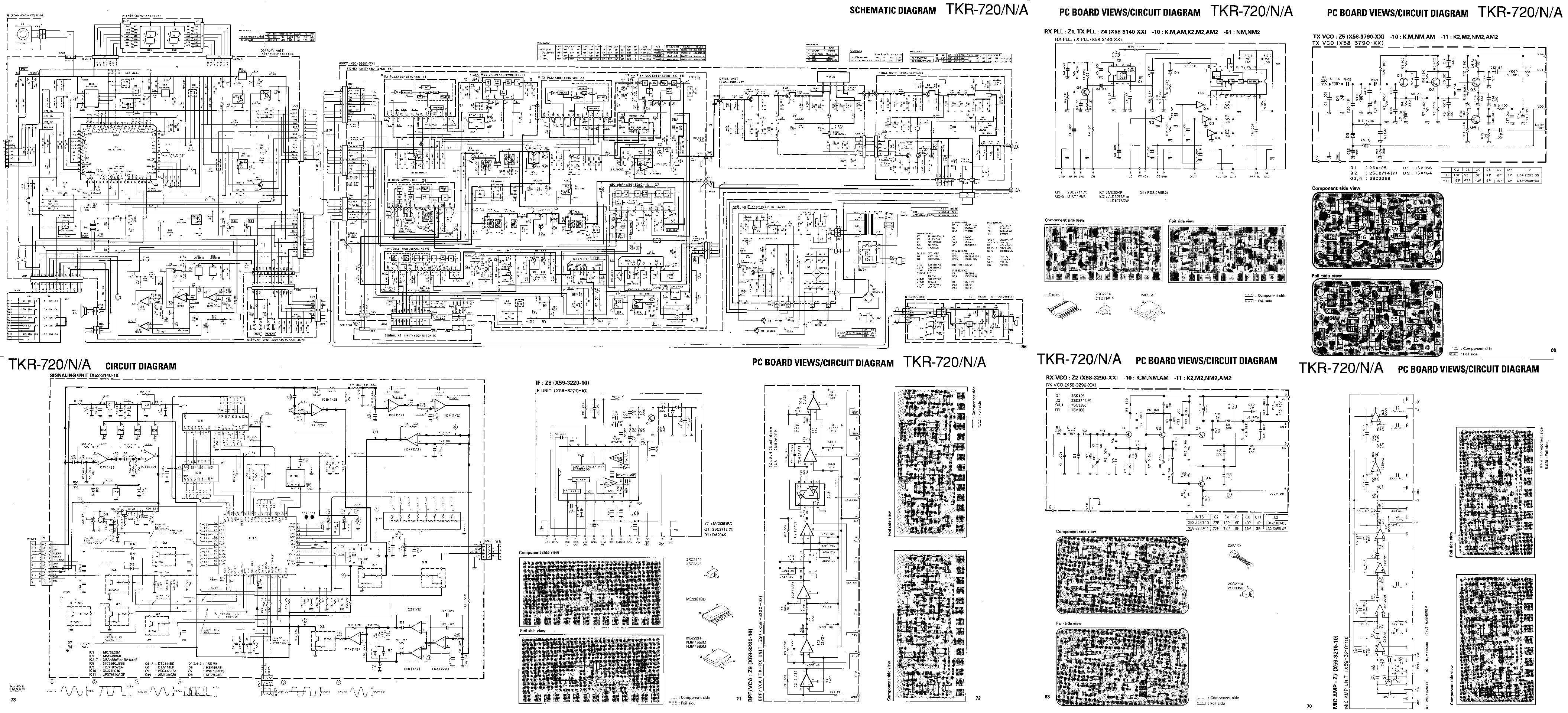 50s Wiring Diagram Free Download Schematic Kenwood Tkr 720 Service Manual Schematics Eeprom Repair 1st Page