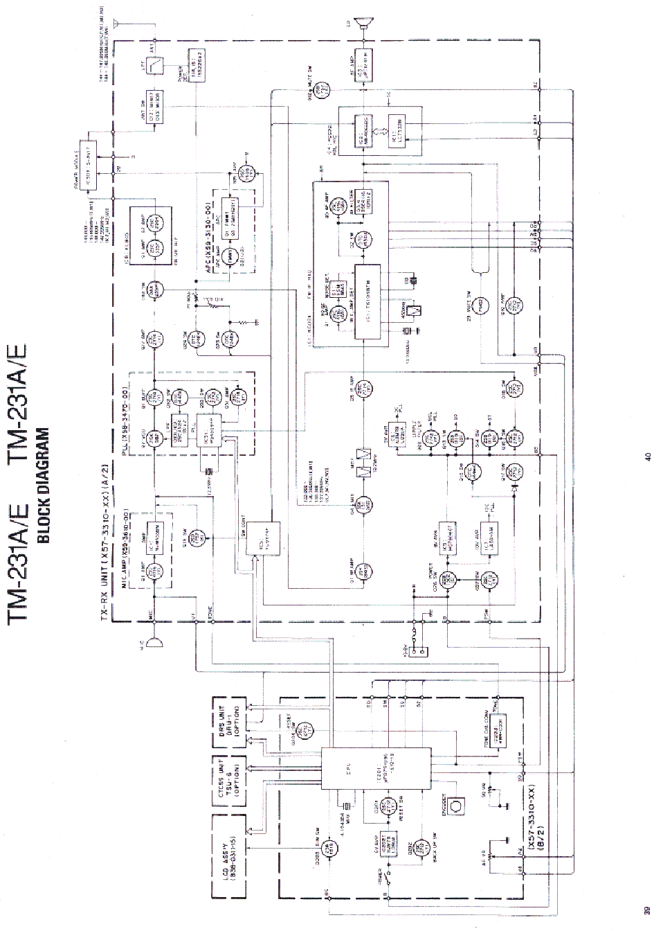 KENWOOD TM-231 service manual (1st page)