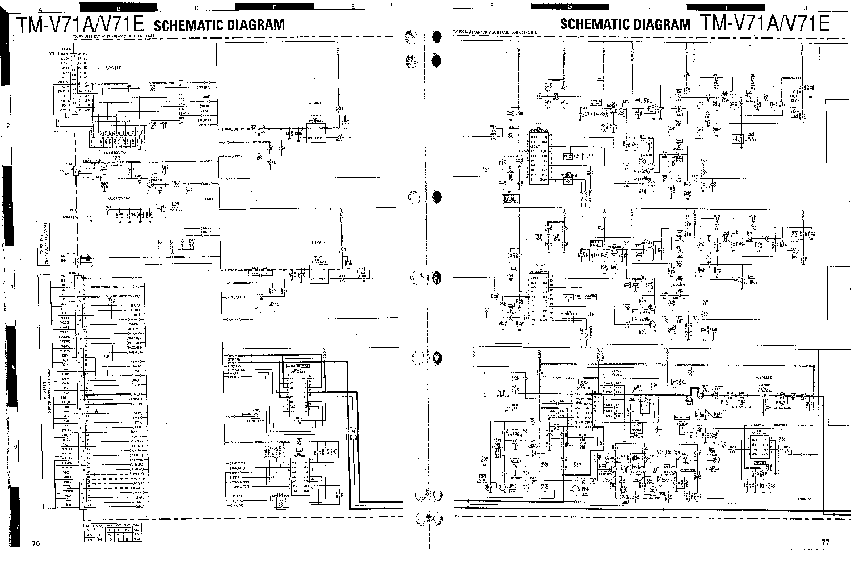KENWOOD TM-V71 Service Manual download, schematics, eeprom
