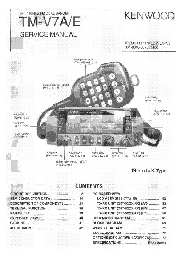 kenwood tm v7 service manual