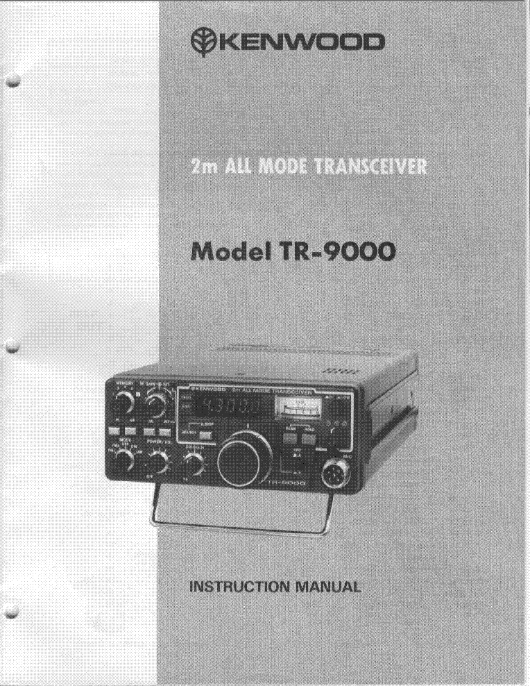 kenwood tr 9000 service manual download schematics eeprom repair rh elektrotanya com Kenwood TM 201A 2 Meters