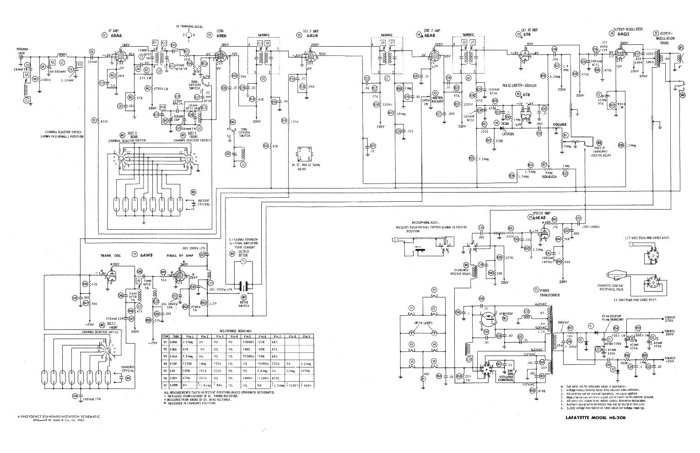 LAFAYETTE HE20B service manual (1st page)