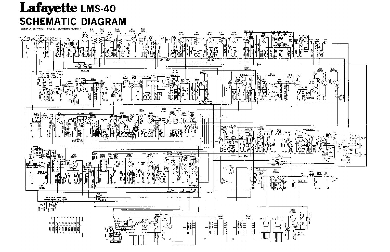 lafayette lms40 service manual download schematics eeprom repair rh elektrotanya com Wiring Diagram Symbols Basic Electrical Schematic Diagrams