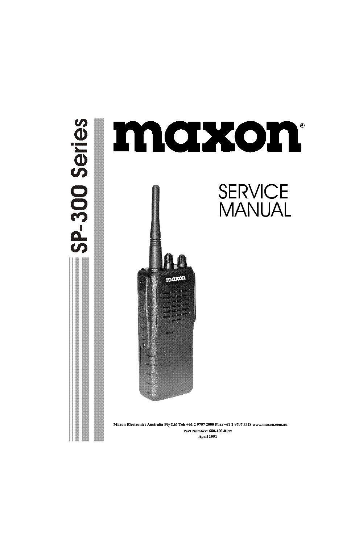 Maxon Manual Bmraw 44 Wiring Diagram Array Sp 300 Series Sm Service Download Schematics Eeprom Rh Elektrotanya Com