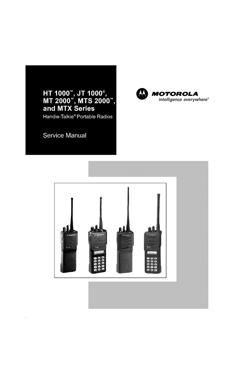 Motorola ht1000 1