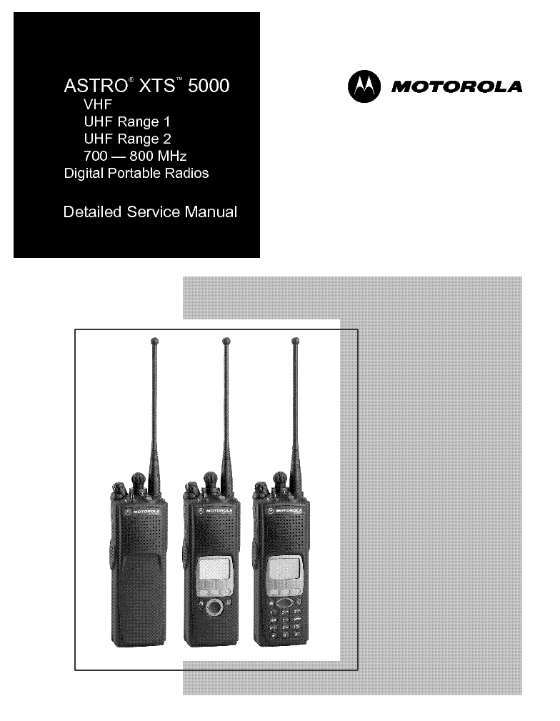 Motorola gp300 manual pdf