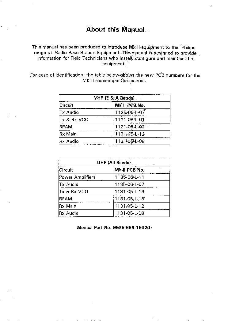 PHILIPS PRF-15 SM Service Manual download, schematics, eeprom