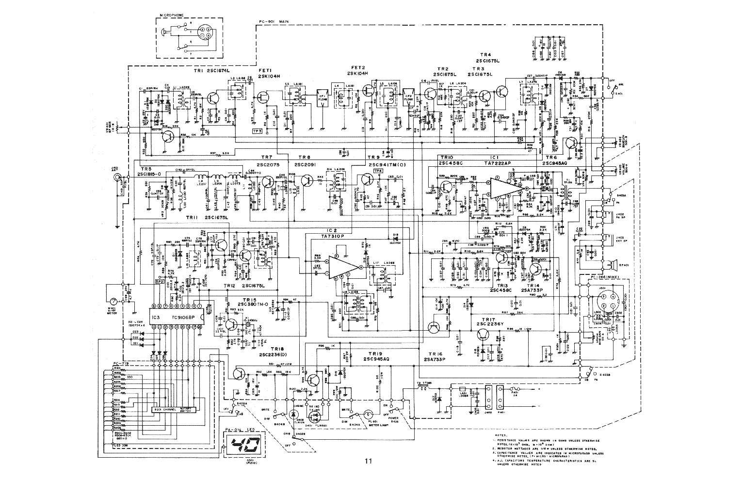 UNIDEN AX44 SCH service manual (1st page)