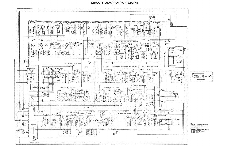 Uniden Grant Service Manual Download  Schematics  Eeprom