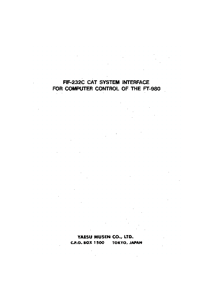 yaesu ft208r transceiver repair manual