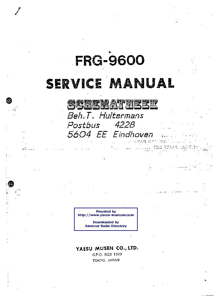 Yaesu frg-8800 in radio communication equipment | ebay.