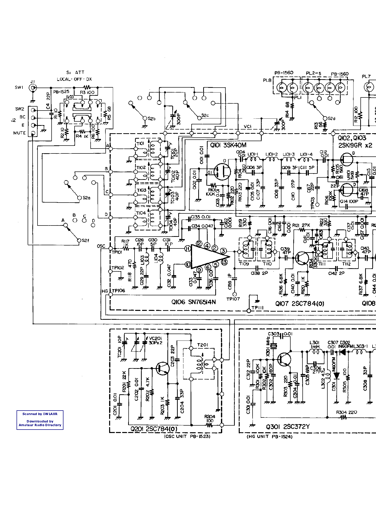 Yaesu frg-9600 service manual download manuals & technical.