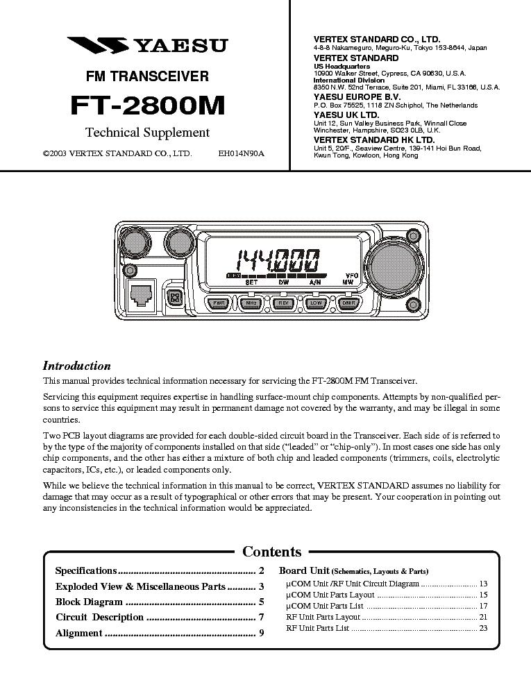 yaesu_ft 2800m.pdf_1 yaesu ft 2800m service manual download, schematics, eeprom, repair  at crackthecode.co