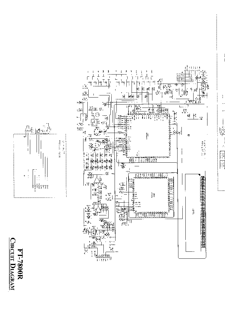 Yaesu Ft 7800 Service Manual Download Schematics Eeprom Repair