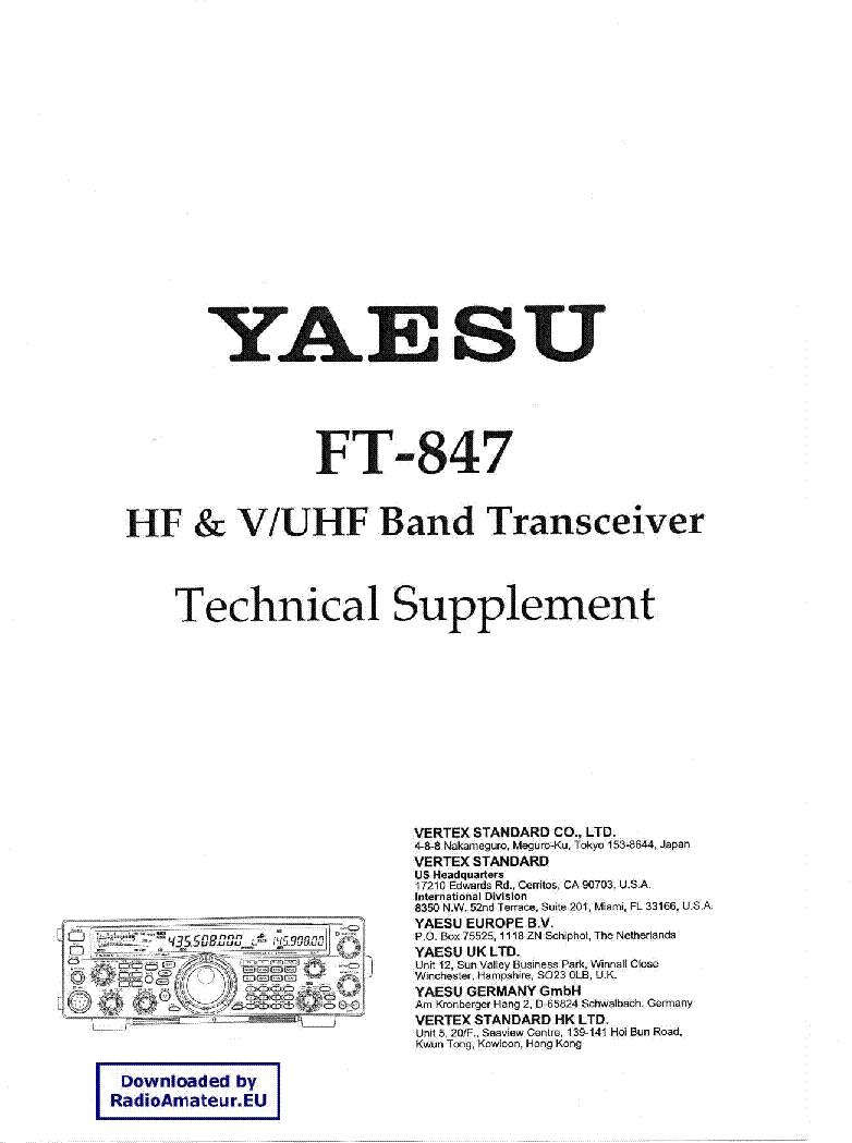 Yaesu ft-847.