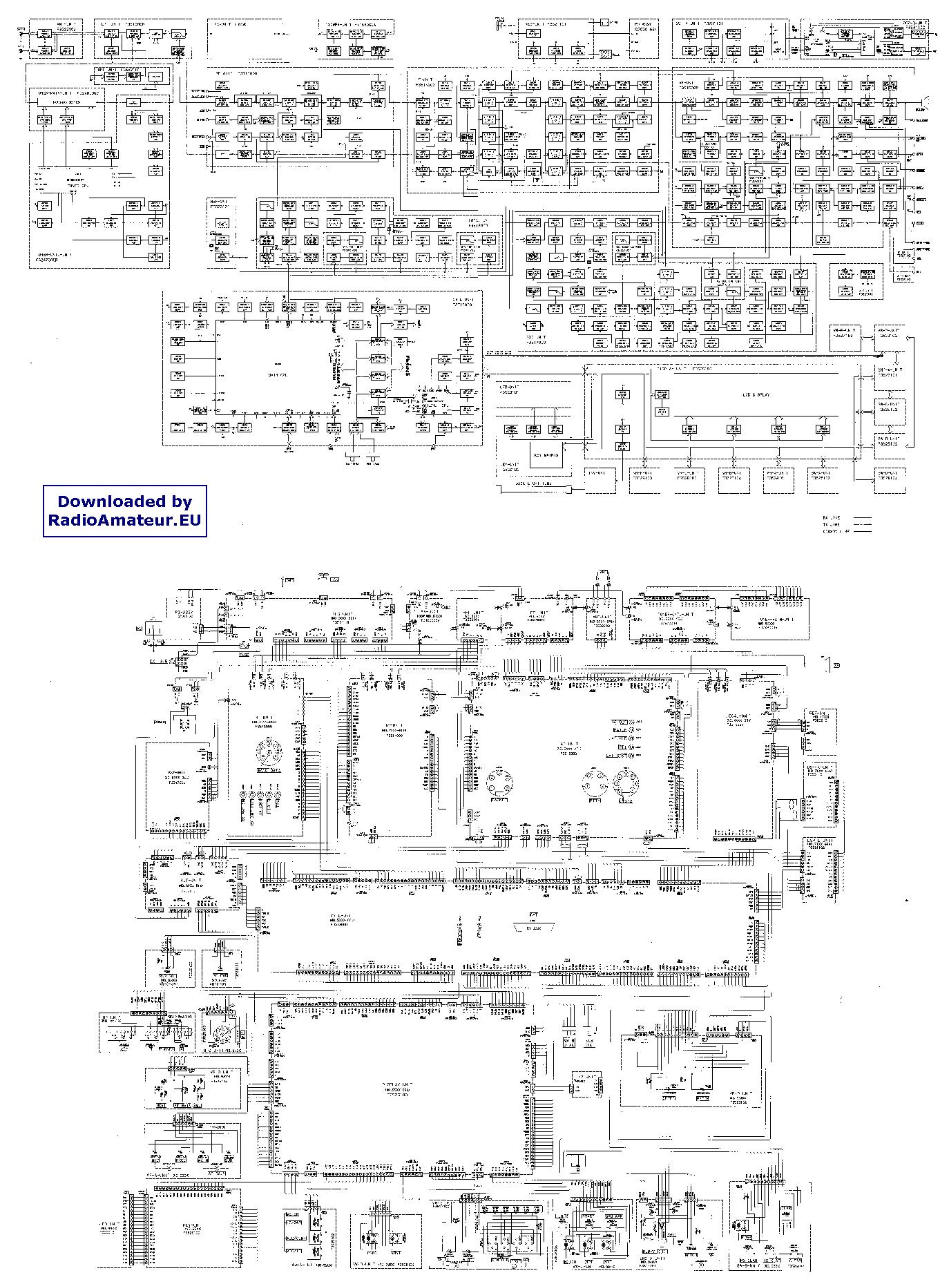 YAESU FT1000 service manual (1st page)