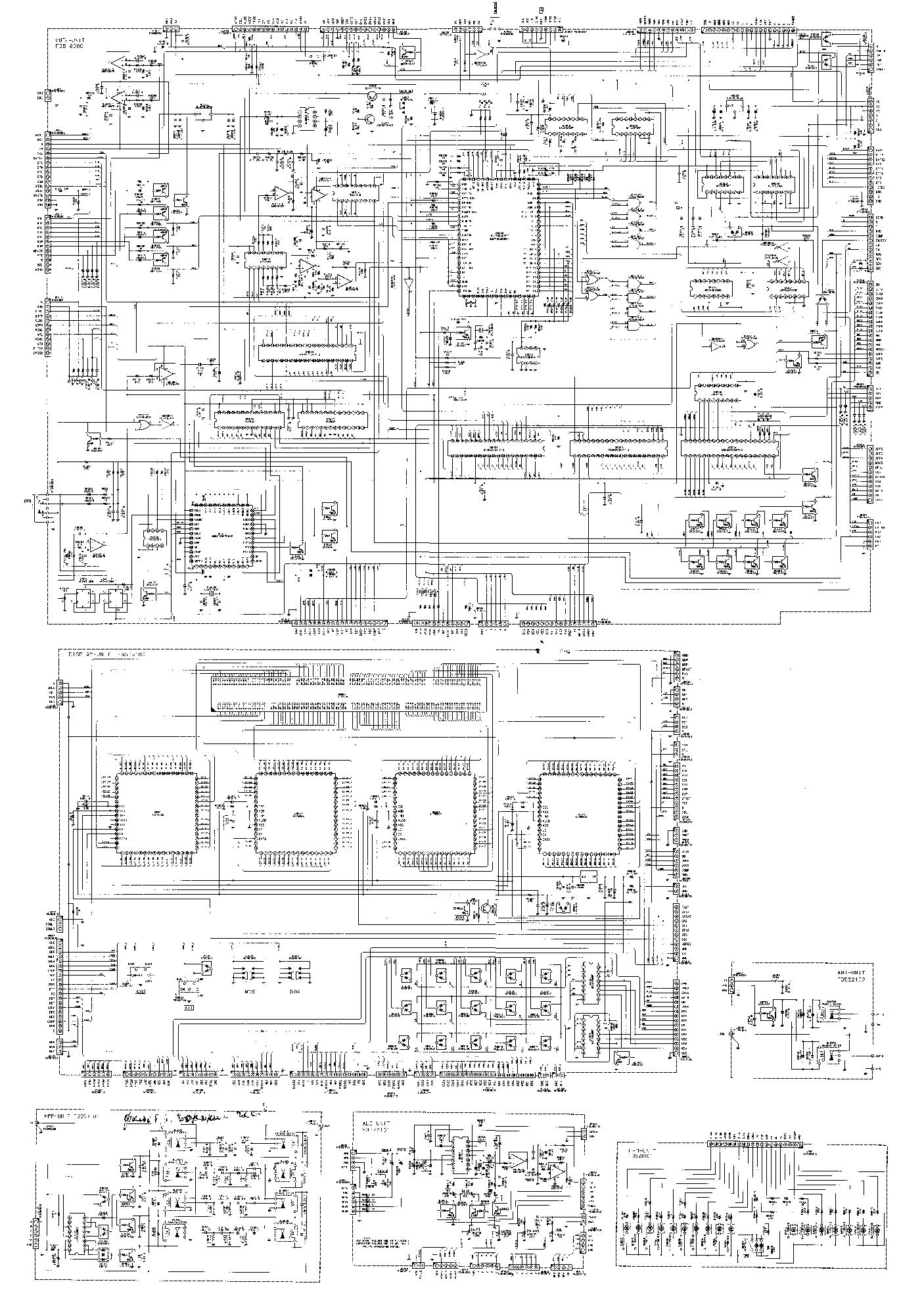 Yaesu Ft1000 Service Manual Download  Schematics  Eeprom