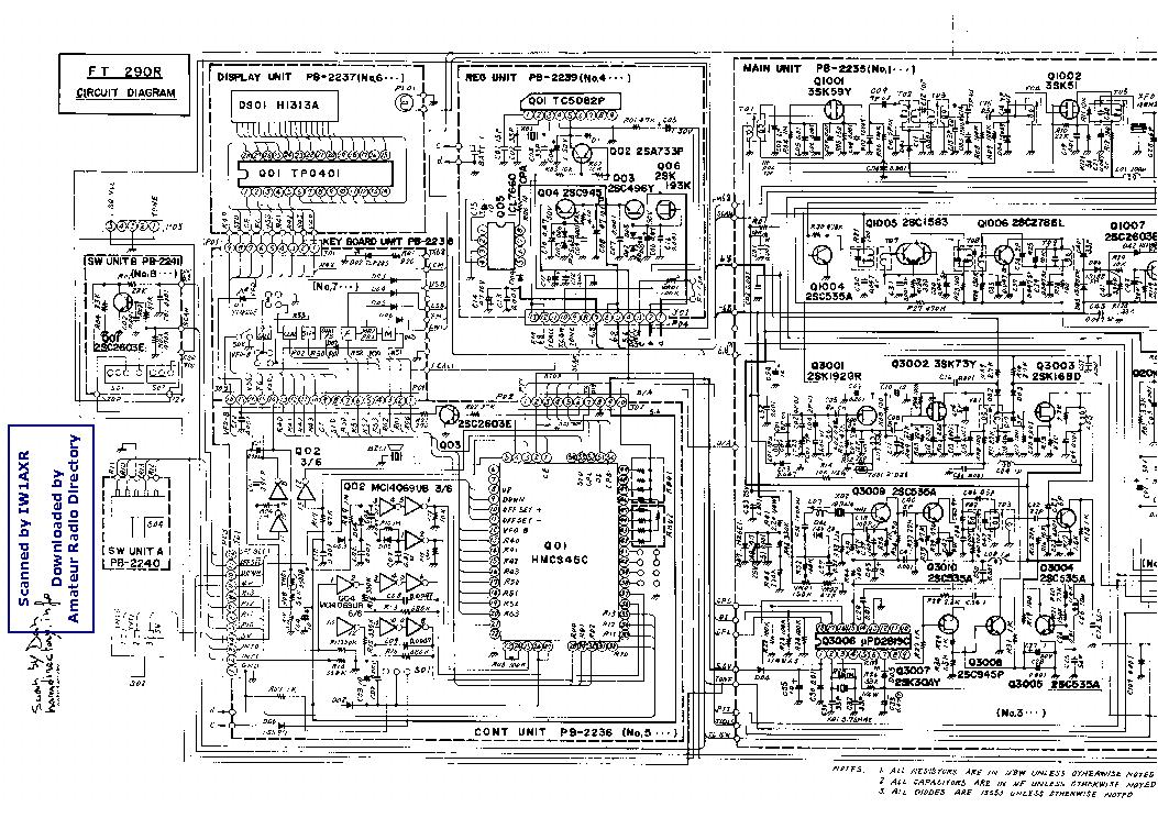 Yaesu Ft290r Service Manual Download Schematics Eeprom