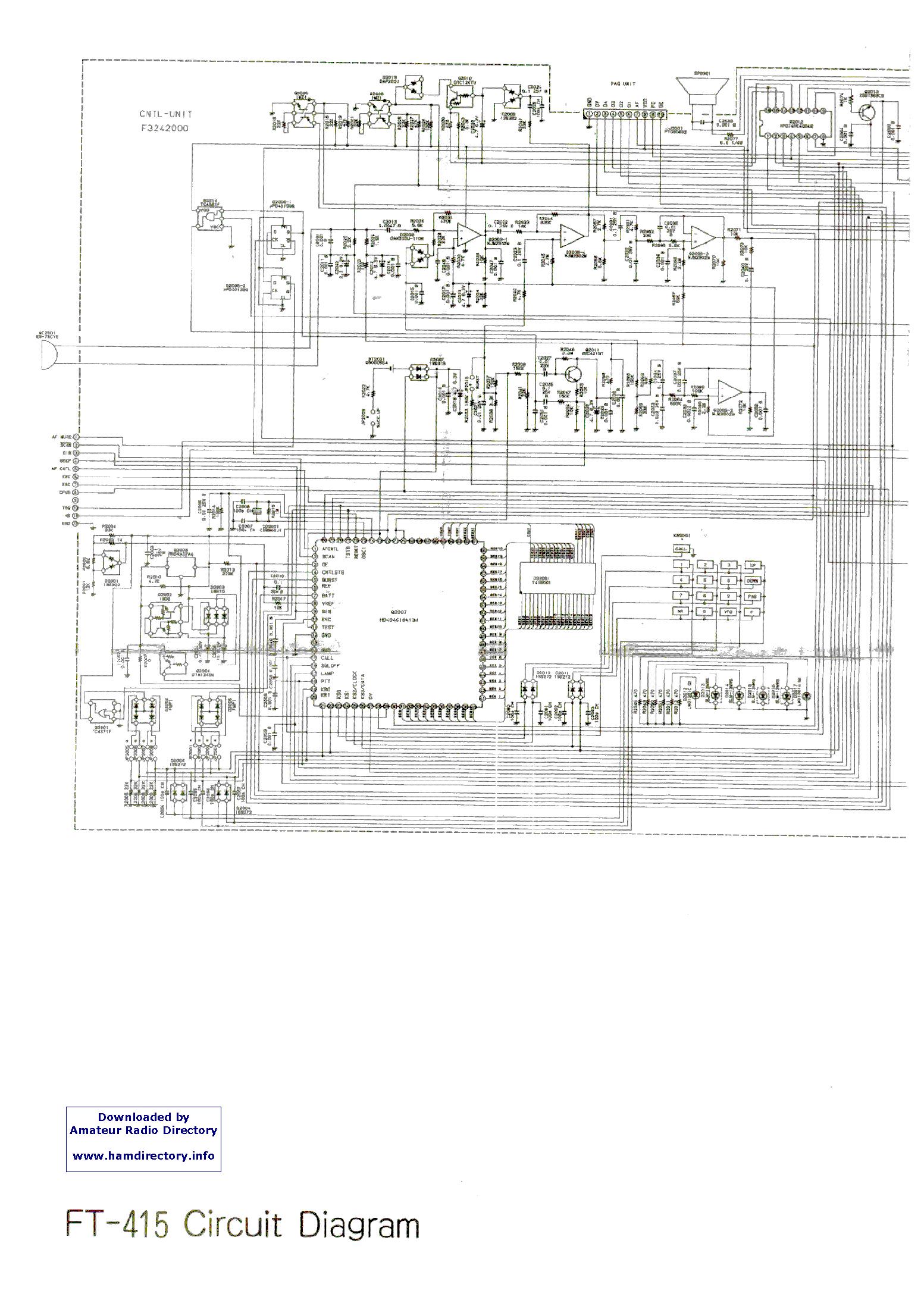 YAESU FT415 service manual (1st page)