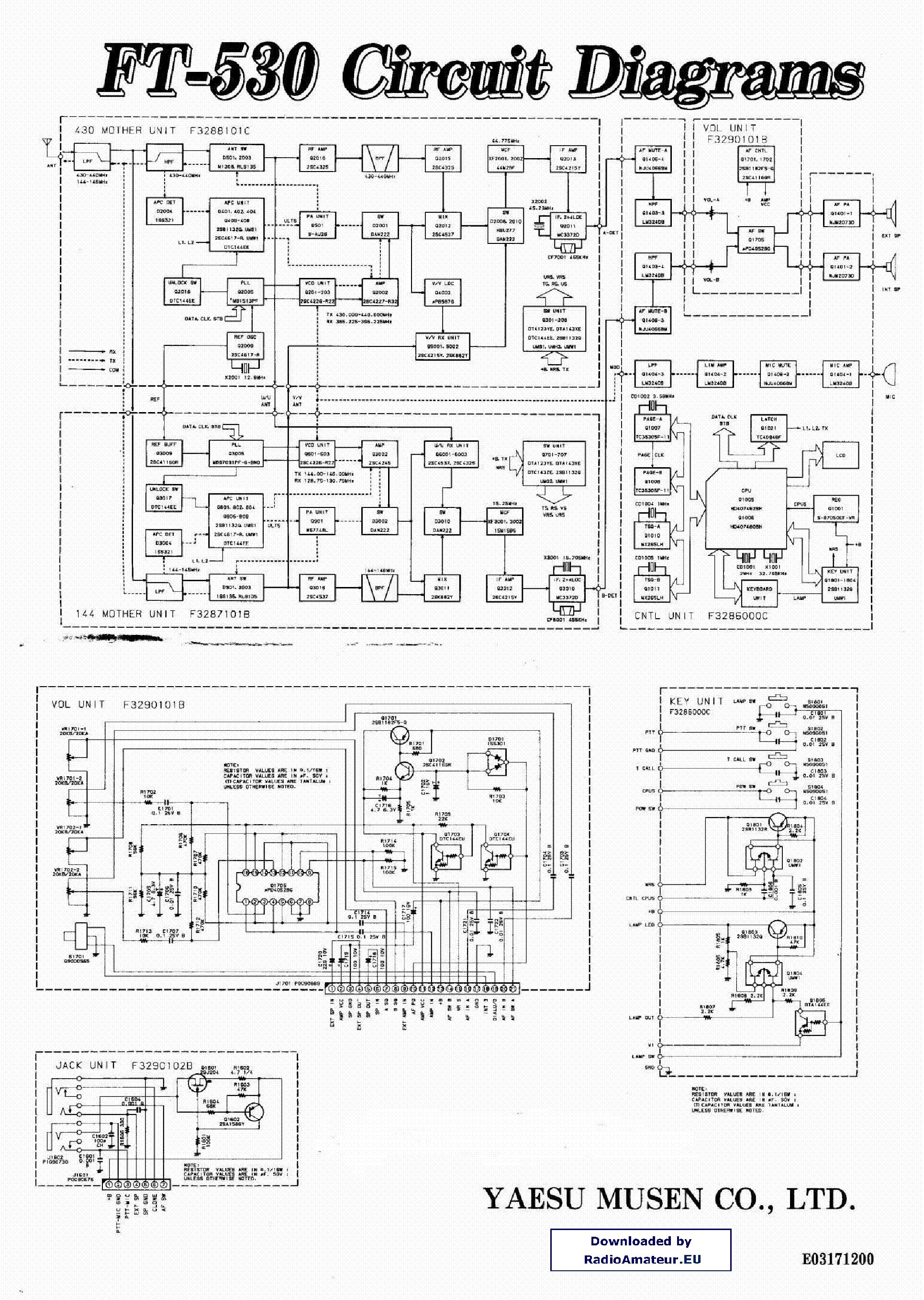 yaesu ft530 service manual download schematics eeprom repair info rh elektrotanya com